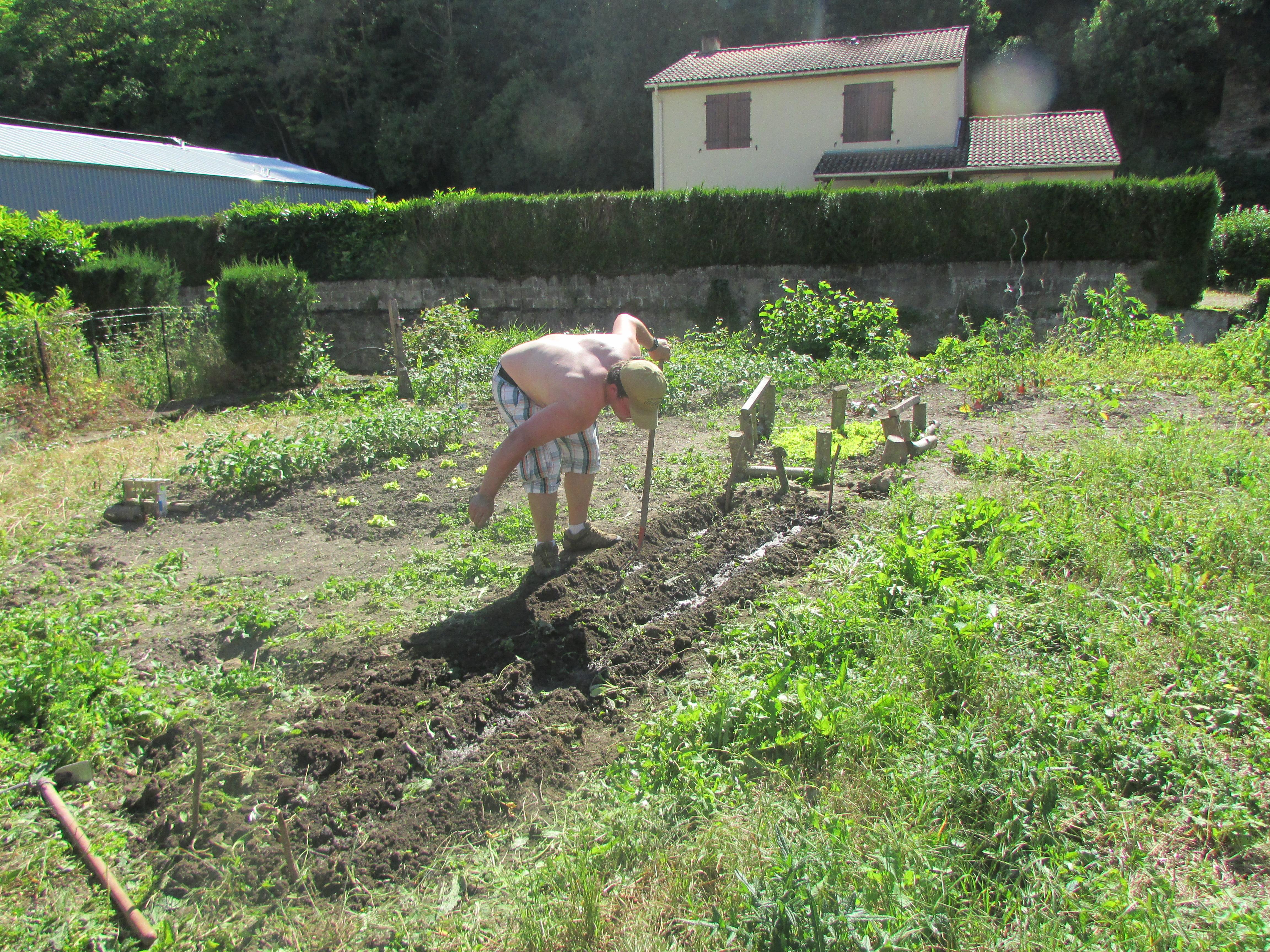 Mathieu et Michel jardinenti